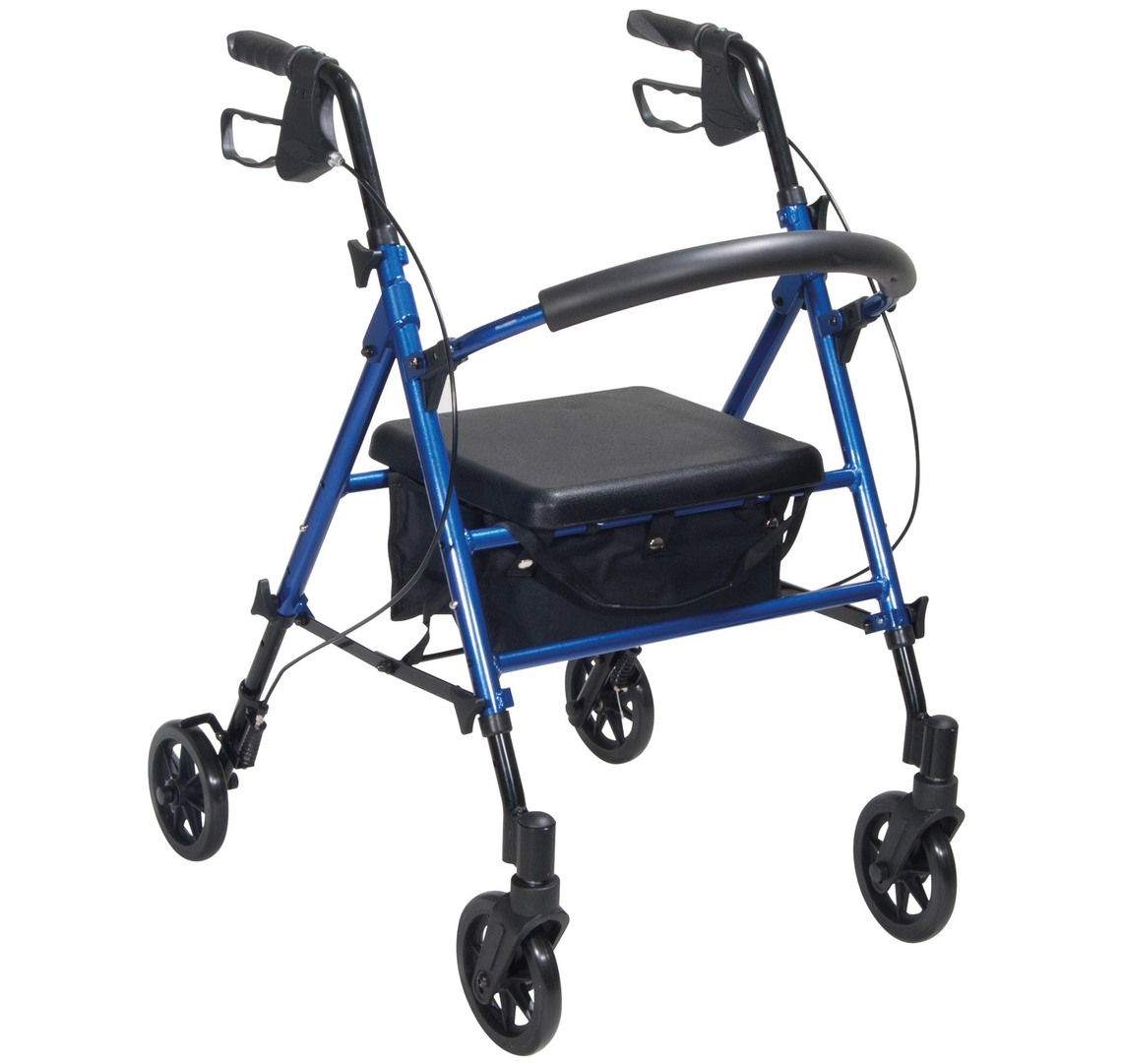 walking-aids | rollators | Adjustable Seat Height Rollator