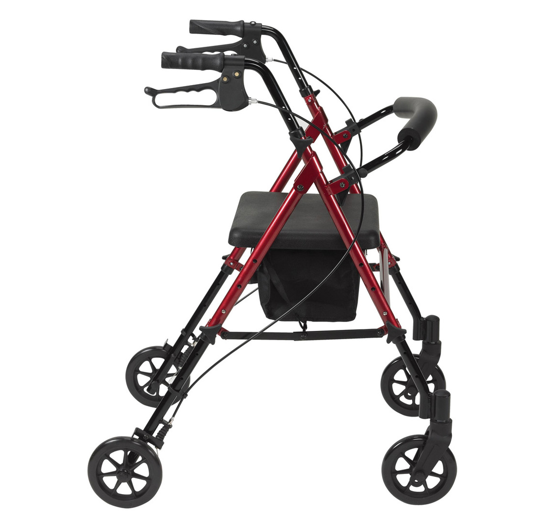 Adjustable Seat Height Rollator World Of Scooters Manchester